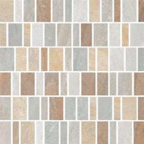 Lefka Walnut Multi Mix Mosaic