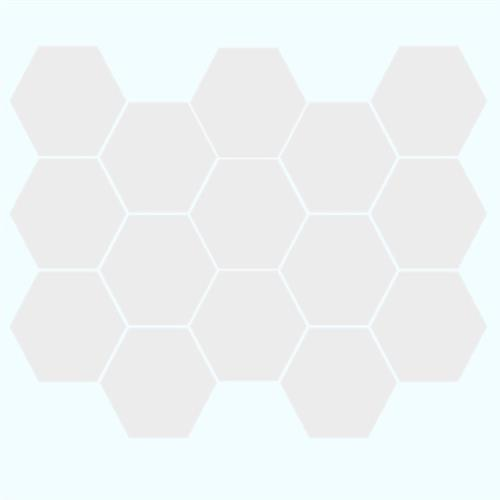 Alaska - Glossy Hexagon