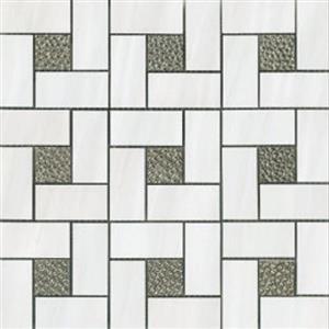 CeramicPorcelainTile Dolomite 6030-G WhitePinwheel