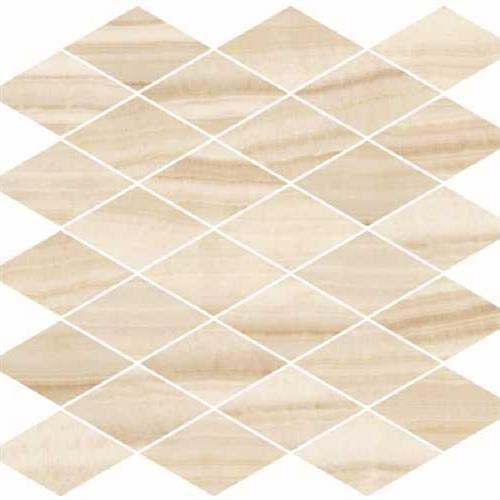 Onyx Honey Natural - Rhomboid Mosaic