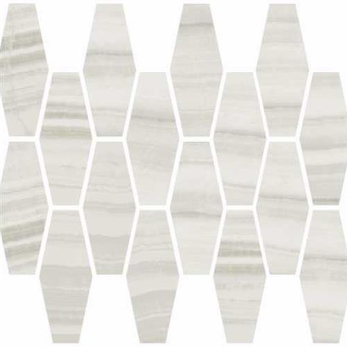 Onyx Milk Natural - Elongated Hexagon