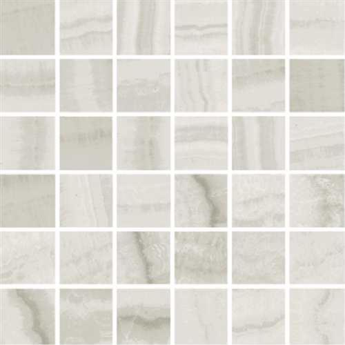 Onyx in Milk Polished   Mosaic - Tile by Happy Floors
