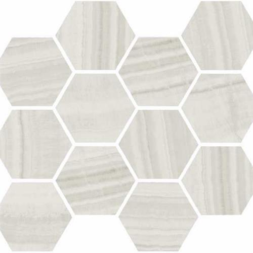 Onyx in Milk Polished   Hexagon - Tile by Happy Floors