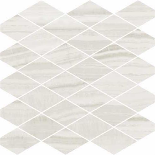 Onyx Milk Polished - Rhomboid Mosaic