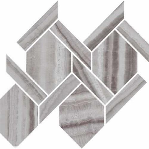 Onyx Silver Polished - Rope Mosaic