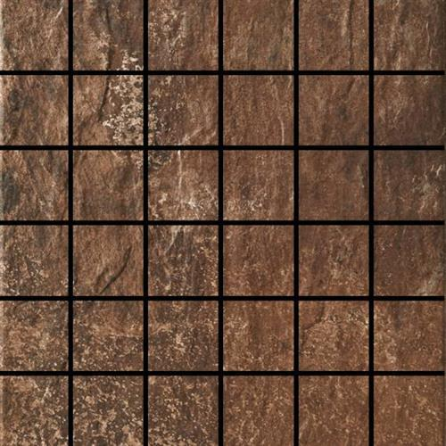 Slate in Brown Mosaic - Tile by Happy Floors