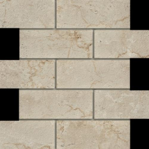 Marmi in Botticino  Mosaic 2x6 - Tile by Happy Floors