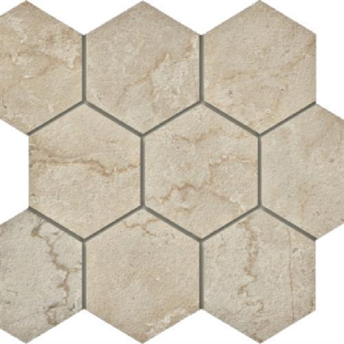 Marmi Botticino - Hexagon