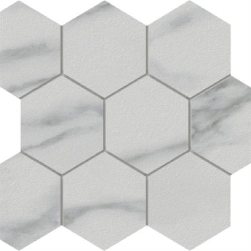 Marmi Statuario - Hexagon
