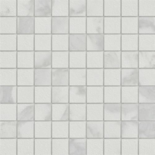 Marmi in Calacatta  Mosaic 1.5x1.5 - Tile by Happy Floors