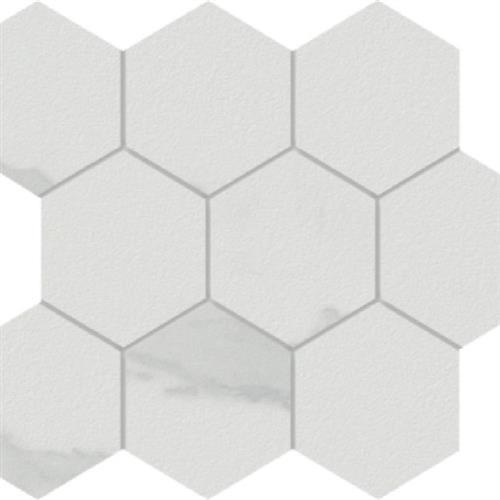 Marmi in Calacatta  Hexagon - Tile by Happy Floors