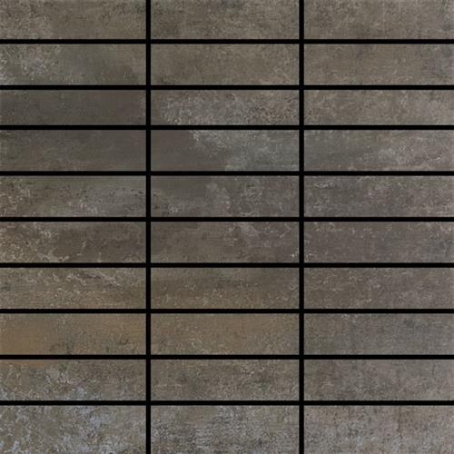 Contempo in Graphite   Mosaic - Tile by Happy Floors