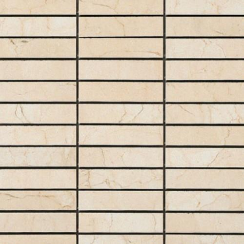 Crema Marfil Mosaic Semi-Polished