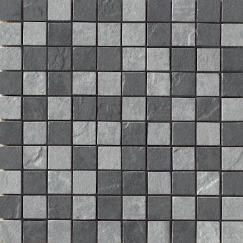 Eternity in Mosaic MIX   Black/ Grey - Tile by Happy Floors