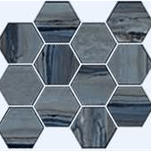Exotic Stone Lagoon Polished - Hexagon