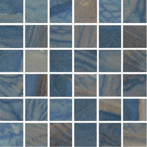 Macaubas in Azul Polished   Mosaic - Tile by Happy Floors