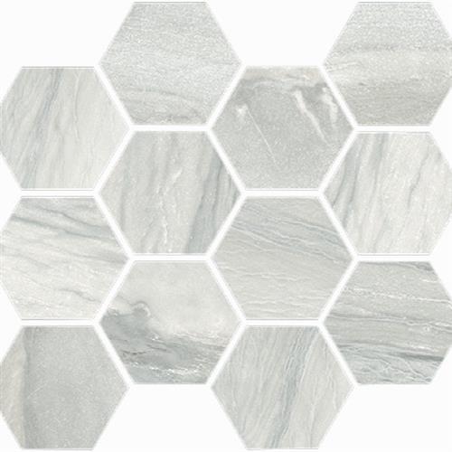 Macaubas in Pearl Polished   Hexagon - Tile by Happy Floors