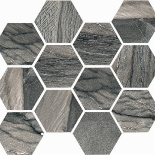 Macaubas in Twilight Natural   Hexagon - Tile by Happy Floors