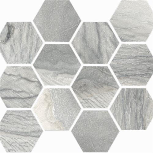 Macaubas in Oyster Polished   Hexagon - Tile by Happy Floors
