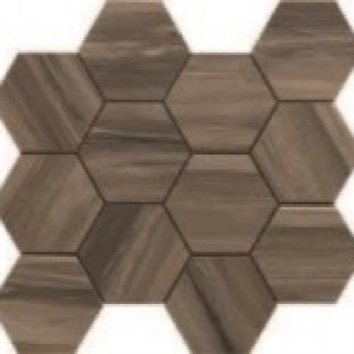 Paint Stone Brown - Hexagon