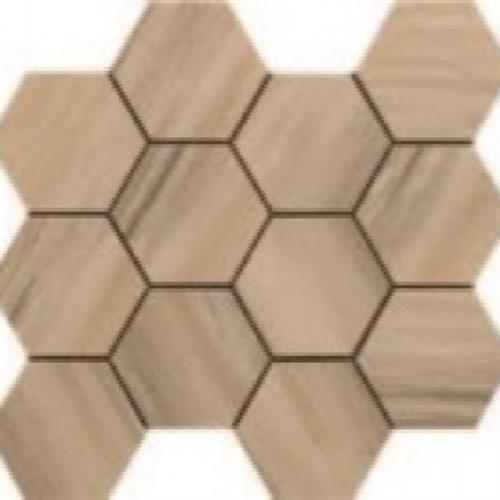 Paint Stone Beige - Hexagon