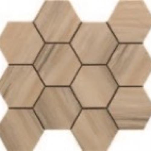 Beige - Hexagon