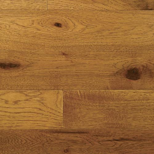 "Hardwood Character Collection Plank 1/2"" Engineered Hickory Saddle  main image"