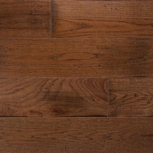 Wide Plank Collection Hickory Saddle