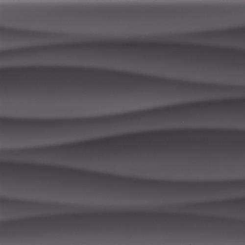 Krea in Midnight Ripple - Tile by Tesoro