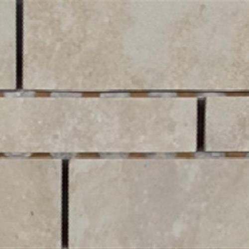 Progress Mosaics Beige Random Linear Muretto Mosaic