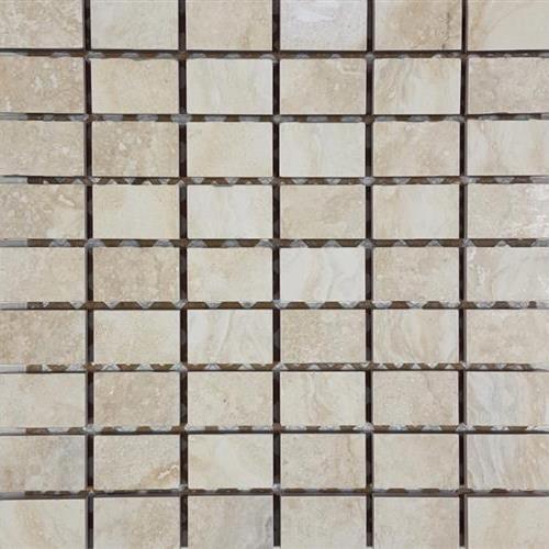 Progress Mosaics Almond Stacked 5 Mosaic