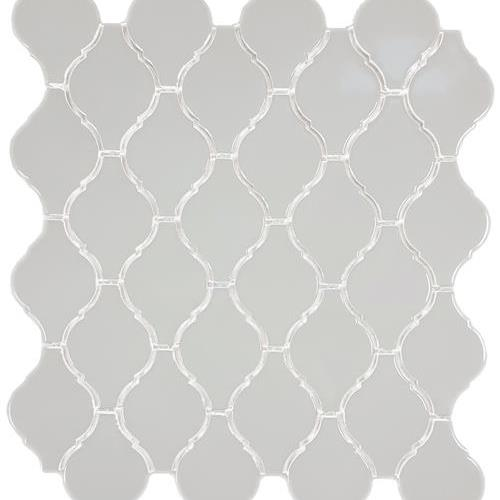 Soho Warm Grey Arabesque Glossy
