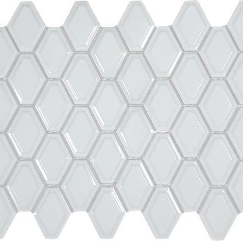 Soho White Convex Glossy