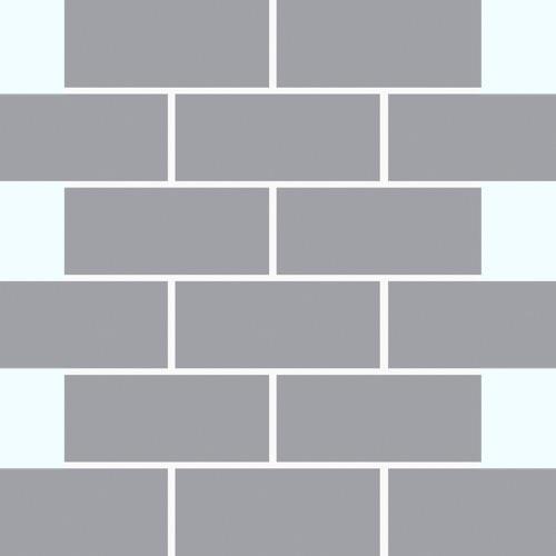 Light Grey - Mosaic 2x4