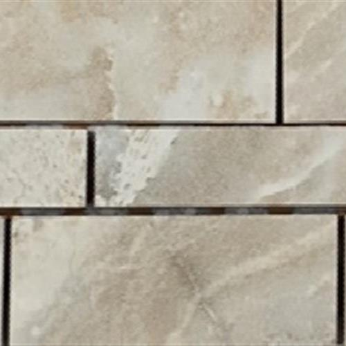Marble Mirror Grigio Chiaro Random Linear Muretto Mosaic