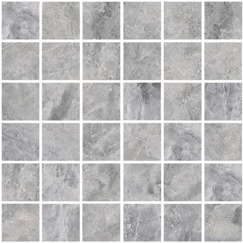 Tampa Grey 2X2 Mosaic