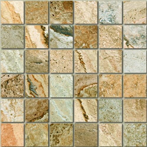 Mikonos Stone Multicolor 2X2 Mosaic