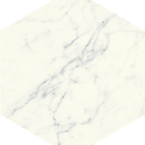 Di Cava Carrara 16X14 Hexagon