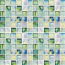 GlassTile Artisan Glass Blends Canterbury - Mixed Mosaic  thumbnail #1