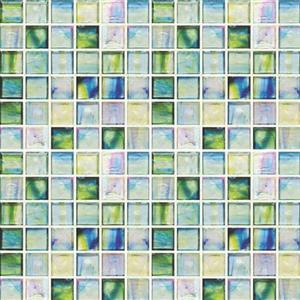 GlassTile ArtisanGlassBlends HIRHIAR0142MB11 Canterbury-MixedMosaic