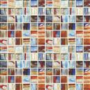 GlassTile Artisan Glass Blends Liverpool - Mixed Mosaic  thumbnail #1