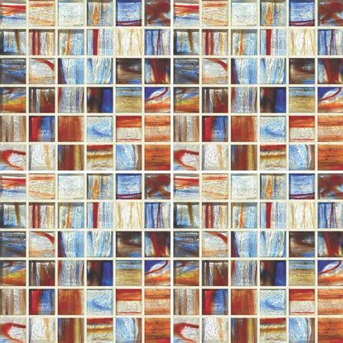 GlassTile Artisan Glass Blends Liverpool - Mixed Mosaic  main image