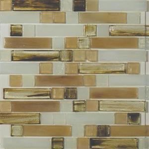 GlassTile ArtisanGlassBlends HIRHIARCA1411MLB Carlyle-MixedMosaic
