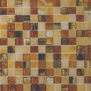GlassTile ArtisanGlassBlends HIRHIARKE11MB Kensington-Mosaic1x1