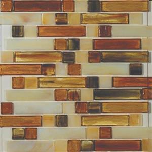GlassTile ArtisanGlassBlends HIRHIARKE1411MLB Kensington-MixedMosaic