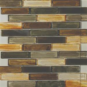 GlassTile ArtisanGlassBlends HIRHIARMA14LB Marston-Mosaic1x4