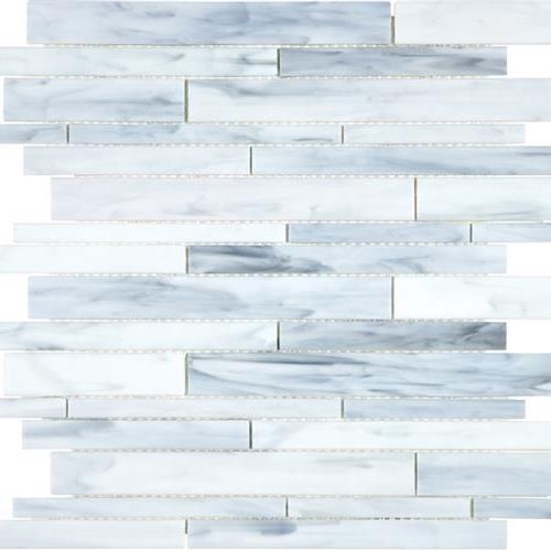 GlassTile Baroque Carrara - Random  main image