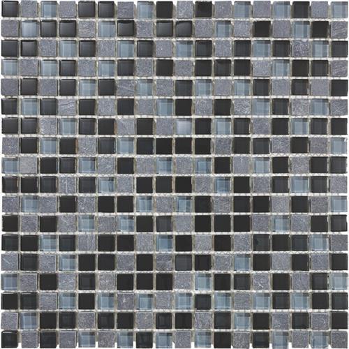 #19 Stone & Glass Mosaic