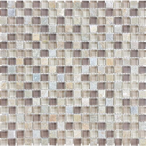 #20 Stone & Glass Mosaic
