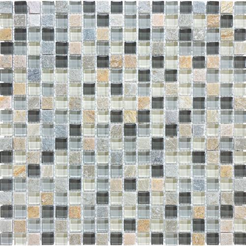 #21 Stone & Glass Mosaic
